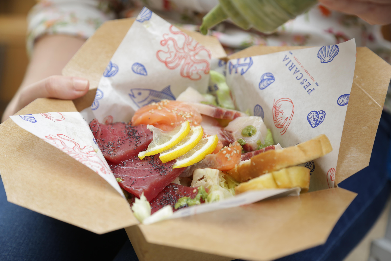 Non solo panini, anche sushi e sashimi con pesce mediterraneo direttamente dalla Puglia