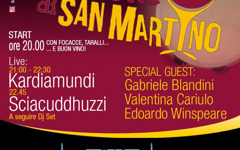 """Venerdì 11 novembre torna l'appuntamento con """"La Notte di San Martino"""""""