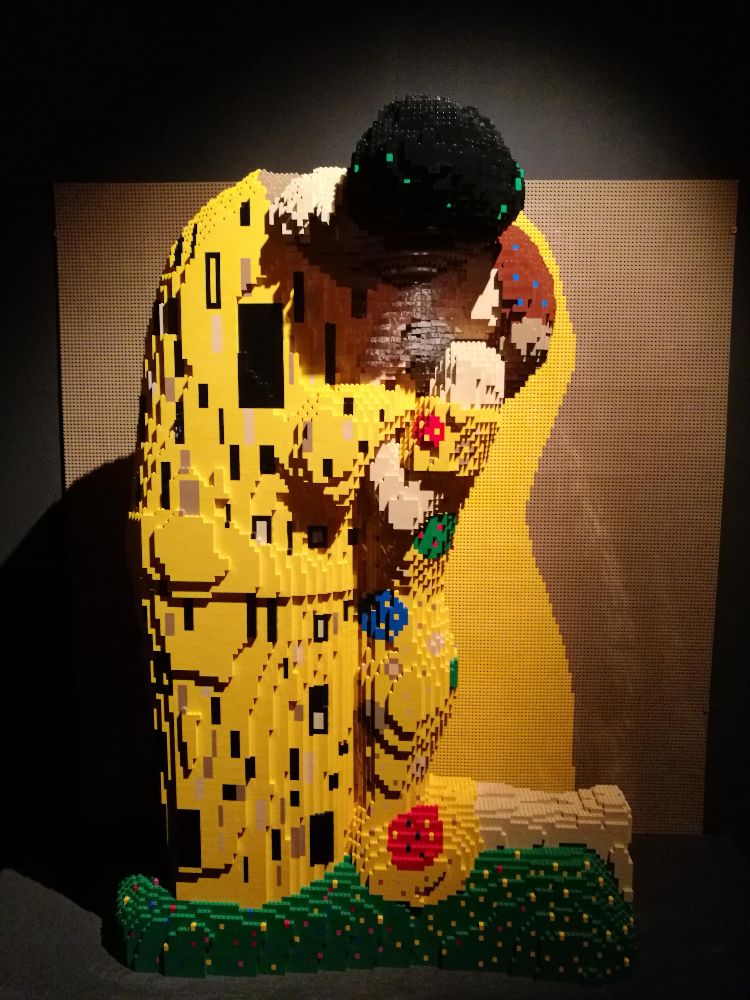 Klimt versione mattoncini Lego