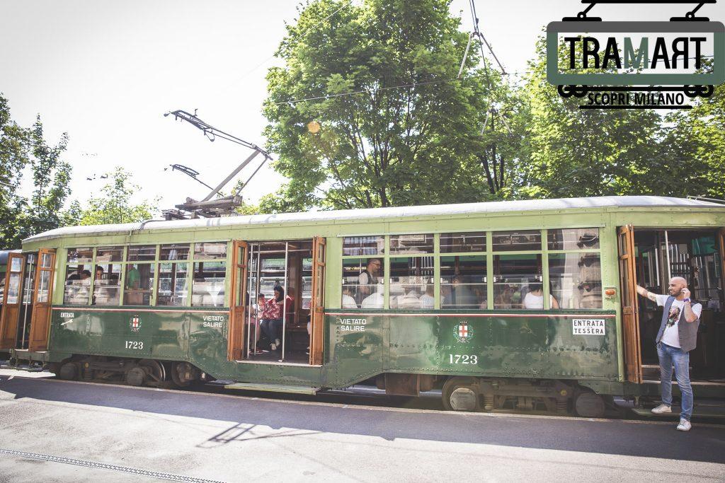 visitare milano in tram