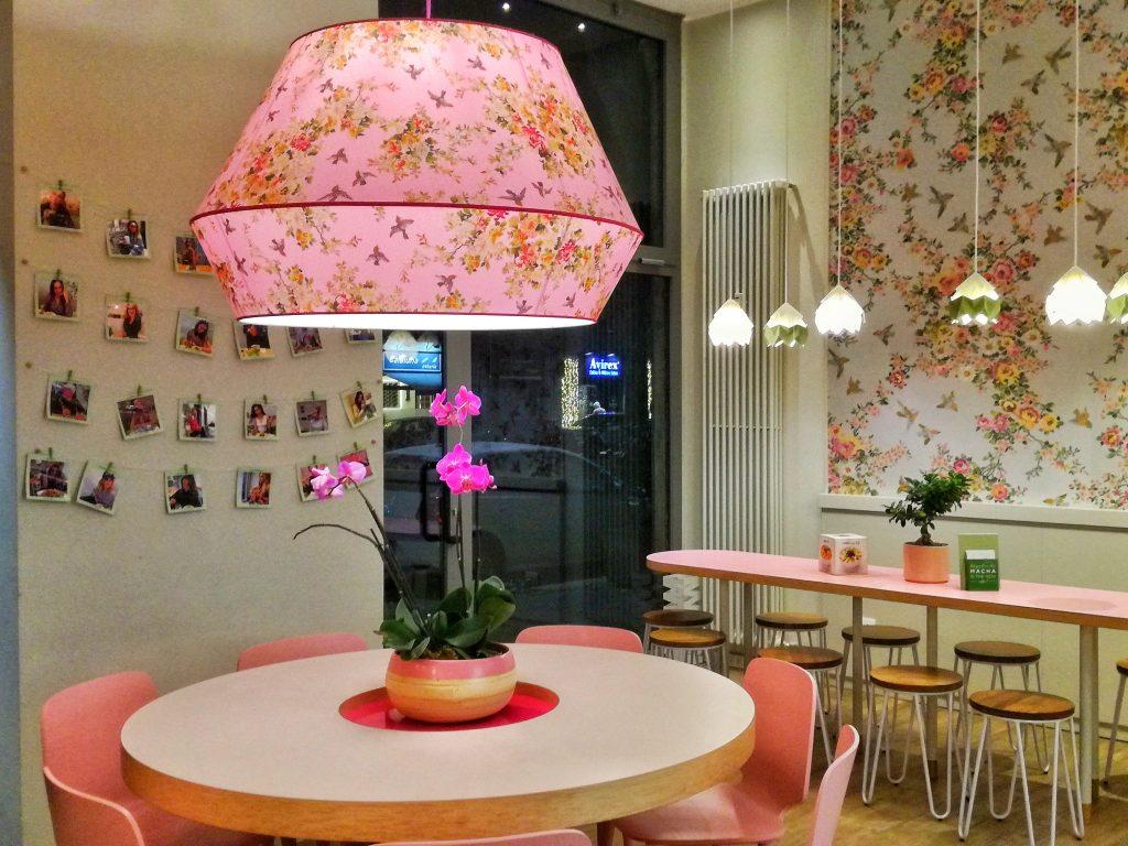 Macha Cafè - posti colorati a Milano