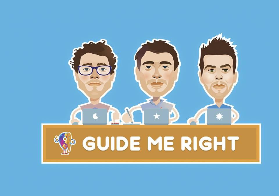 Guide Me Right oggi conta un team di oltre dieci persone.