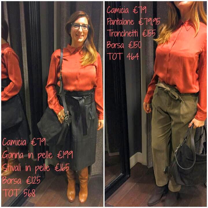 Ecco gli outfit by Massimo Dutti