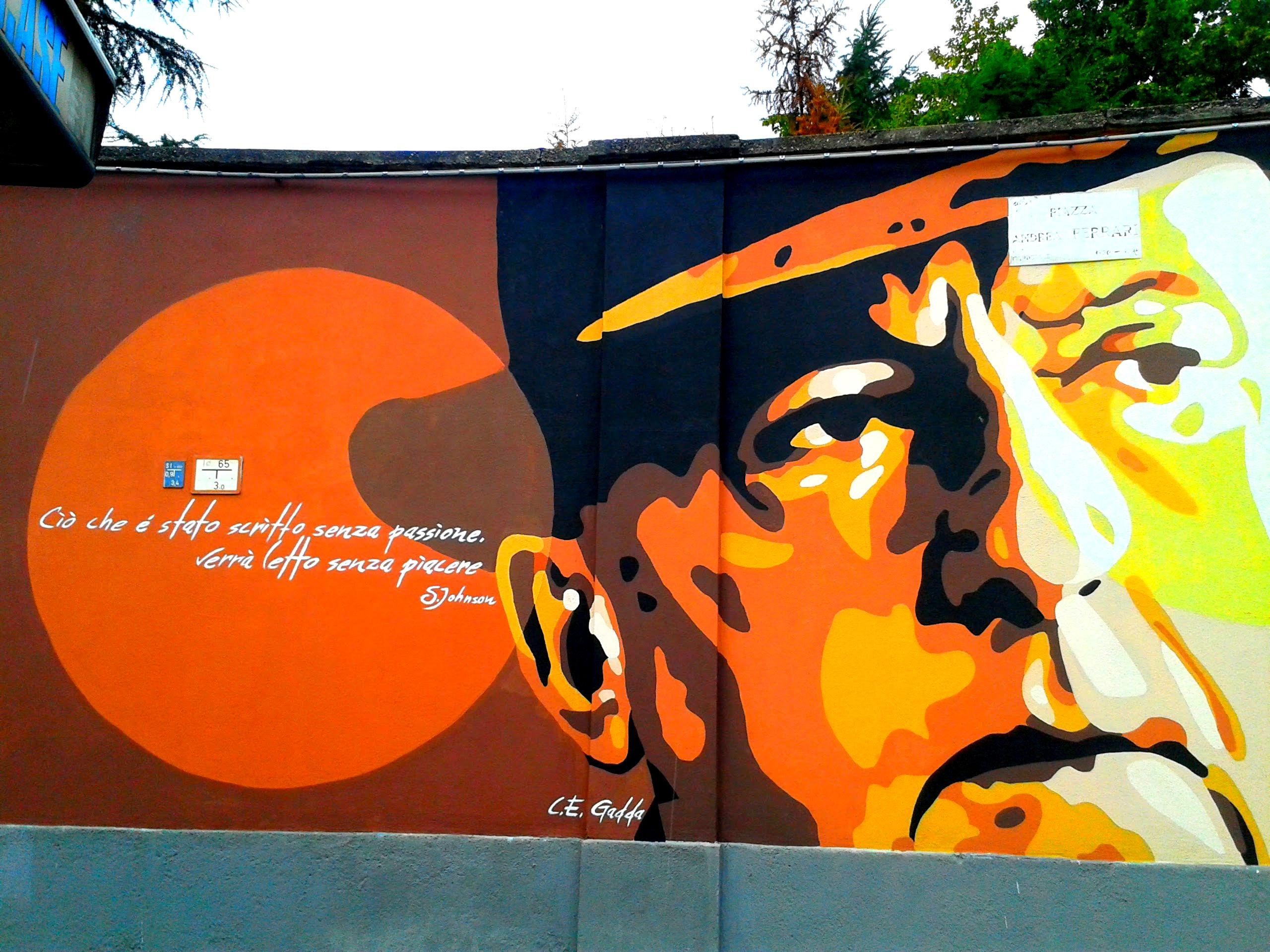 I murales di Piazza Cardinal Ferrari - Orticanoodles