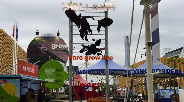 Tra i caratteristici e più colorati padiglioni di tutta Expo