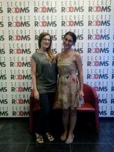 Io e la mia compagna di squadra Roberta