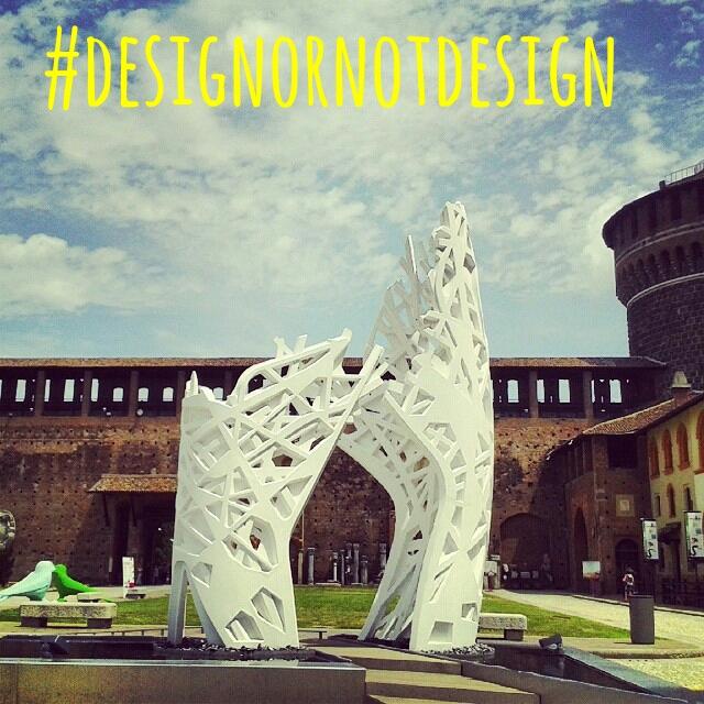 """Oggi al Nhow Hotel reading letterario """"Il disegno di Milano"""" e lancio del challenge #designornotdesign"""
