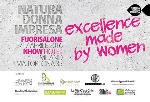 #Fuorisalone2016 – Zona Tortona: Donne e Design Green con Natura Donna Impresa e #IoRicicloTuRicicli7