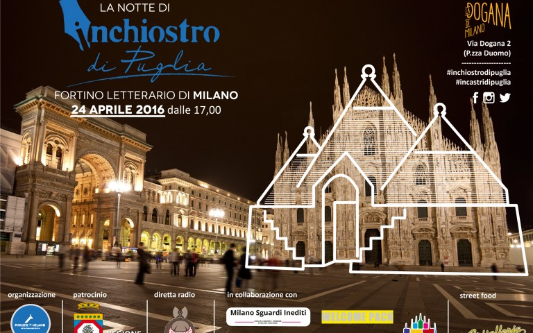 Torna La Notte di inchiostro di Puglia. Appuntamento al 24 aprile.