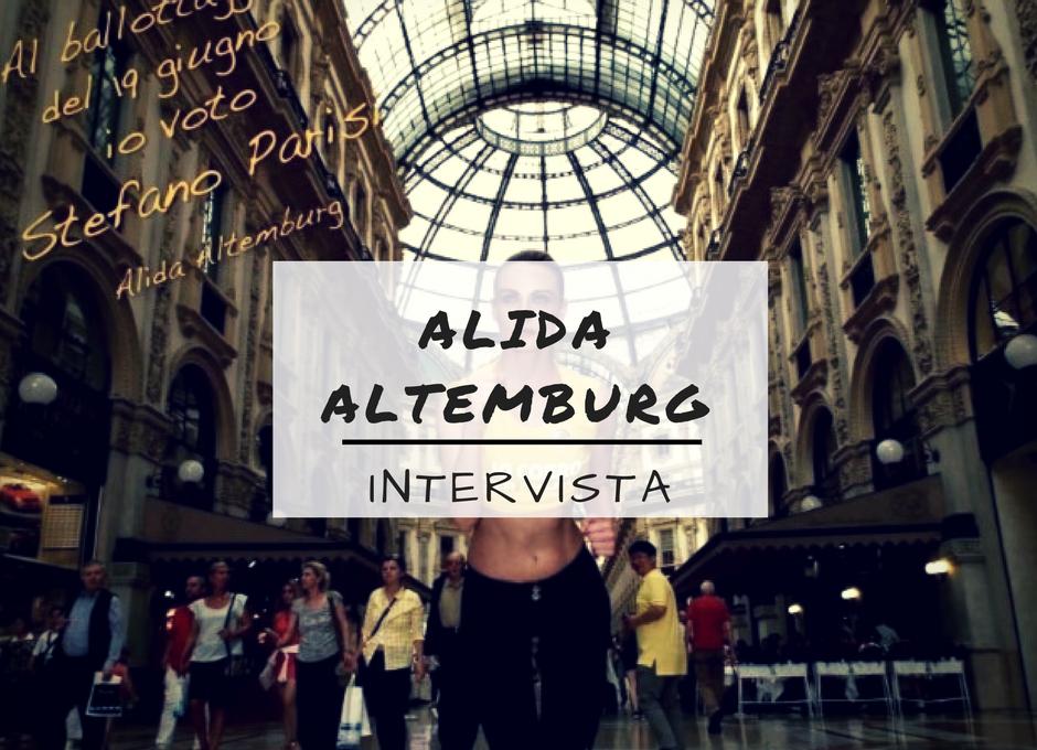 Alida Altemburg e la sua campagna a sostegno di Stefano Parisi