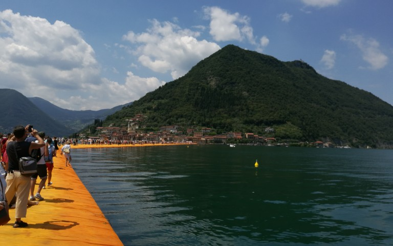 THE FLOATING PIERS: LA MIA ESPERIENZA E QUALCHE DRITTA