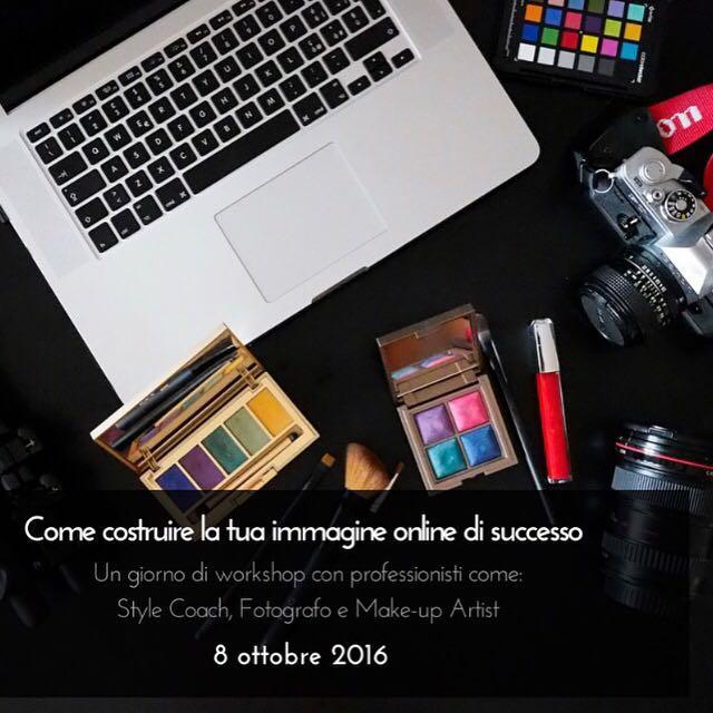 Workshop 8 ottobre: come costruire la tua immagine online di successo