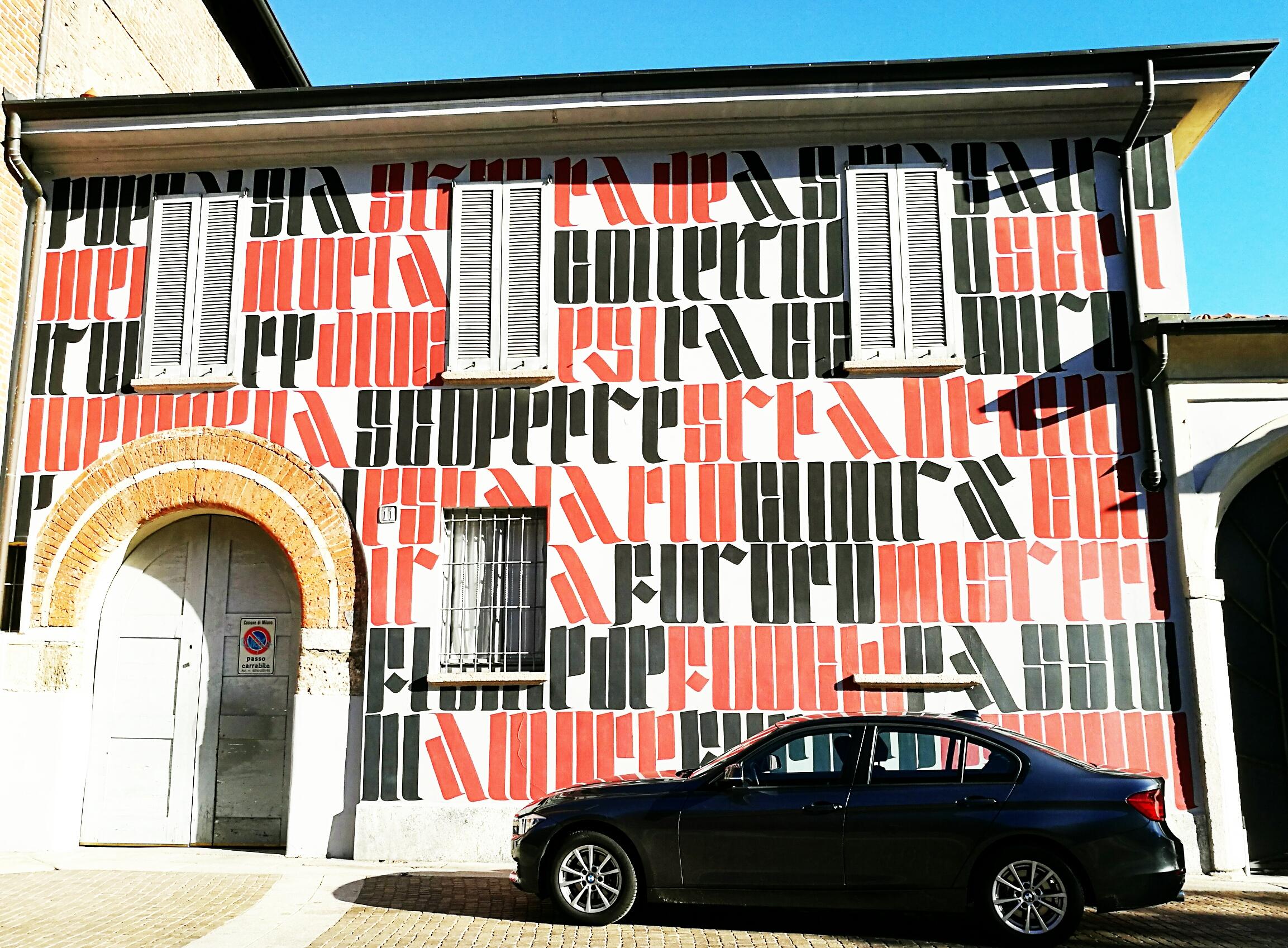street art milano Ivan