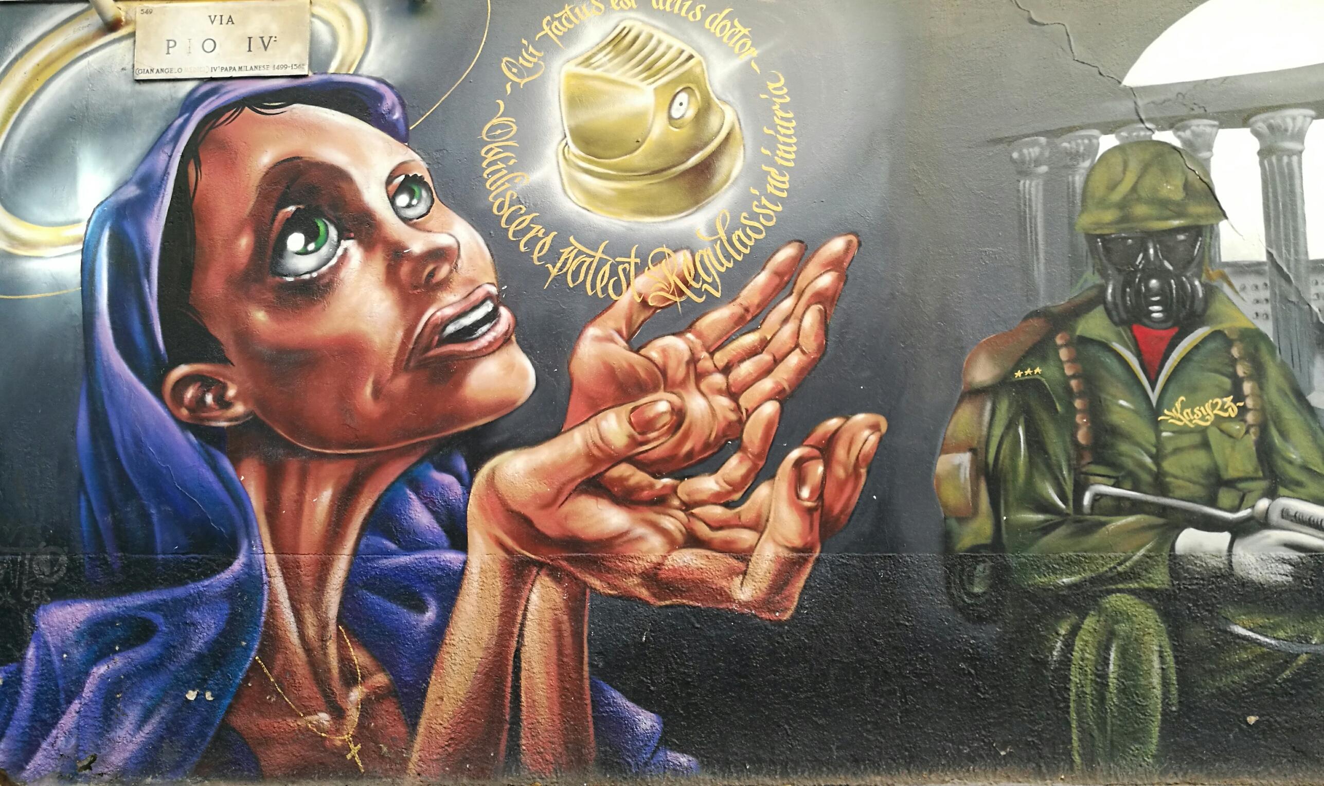 Milano Street History street art colonne san lorenzo