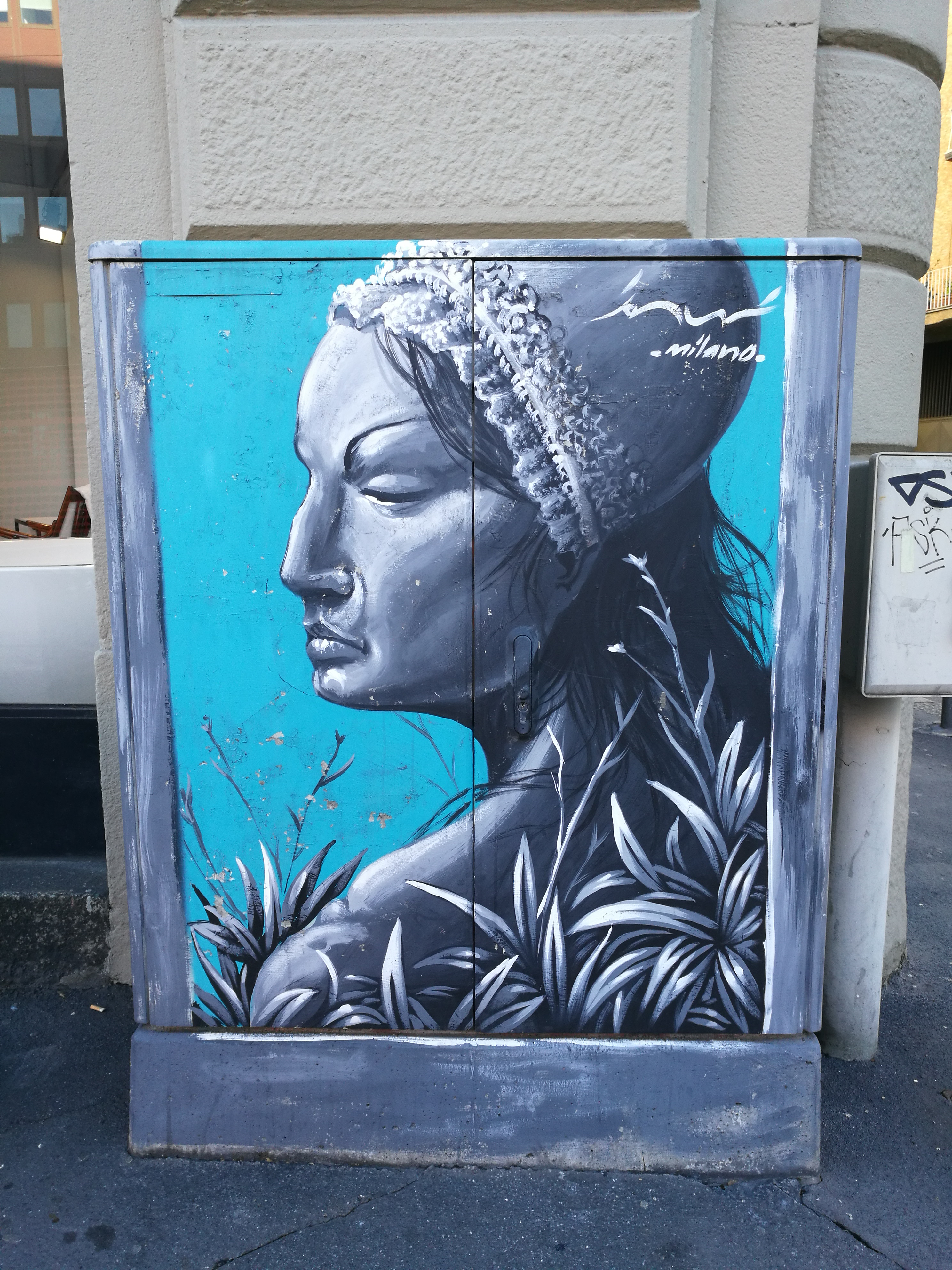 energy box street art