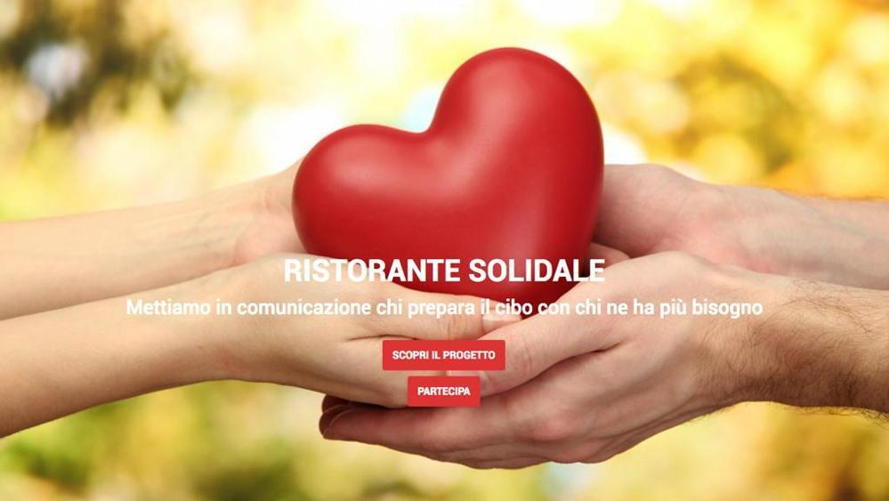 Il Ristorante Solidale è un progetto di Just Eat