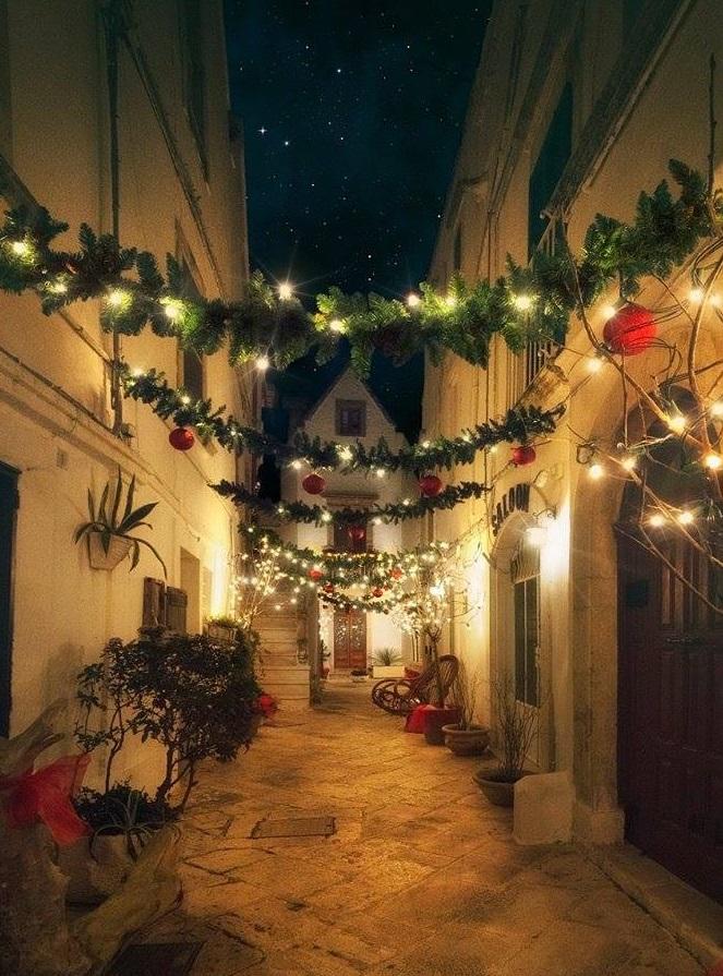 Il Natale a Locorotondo