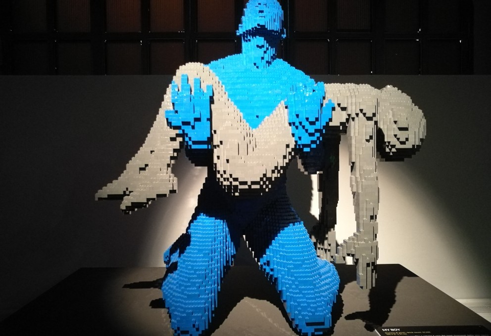 THE ART OF THE BRICK, UNA MOSTRA DA NON PERDERE