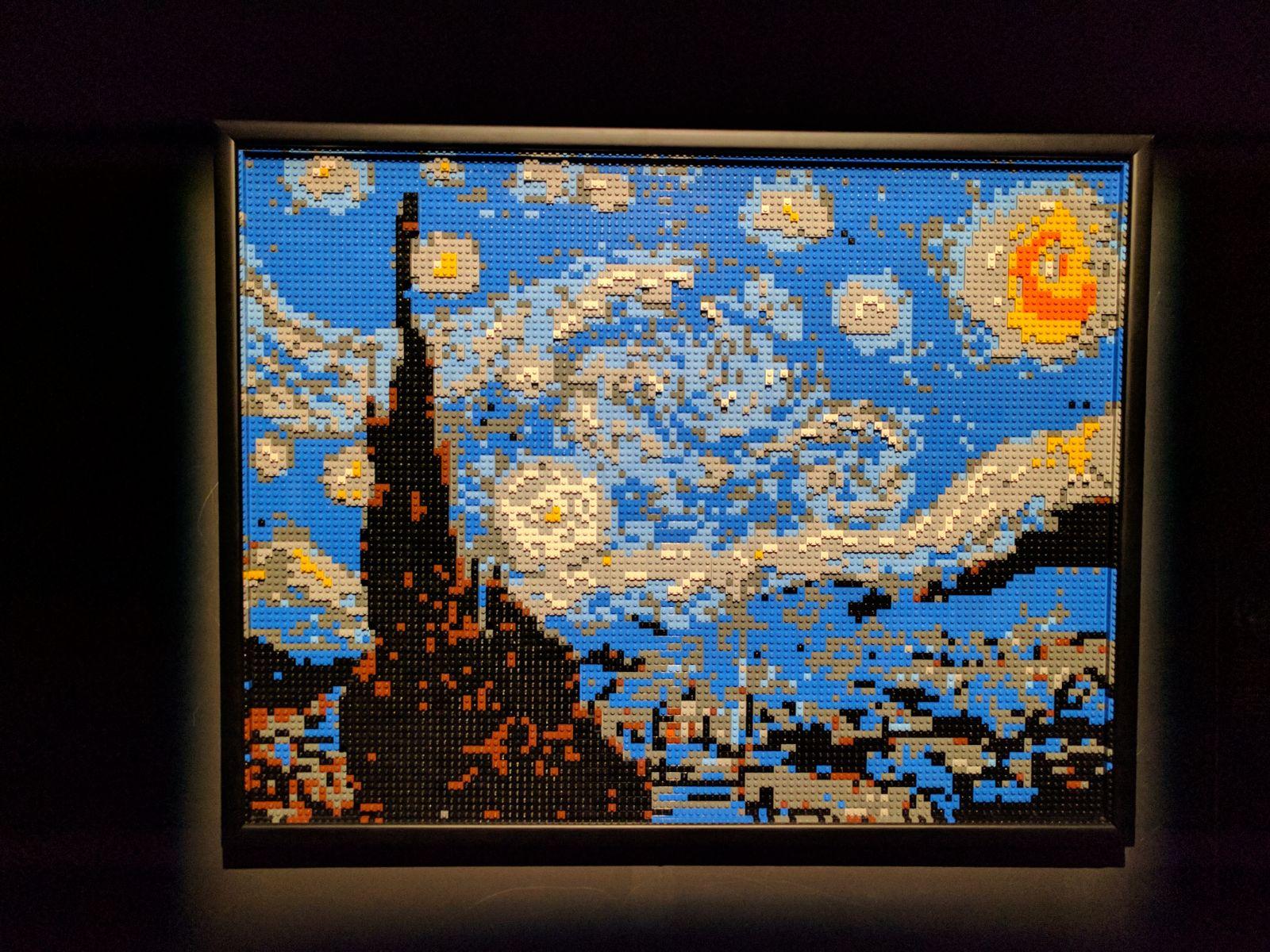 Van Gog in versione mattoncini Lego