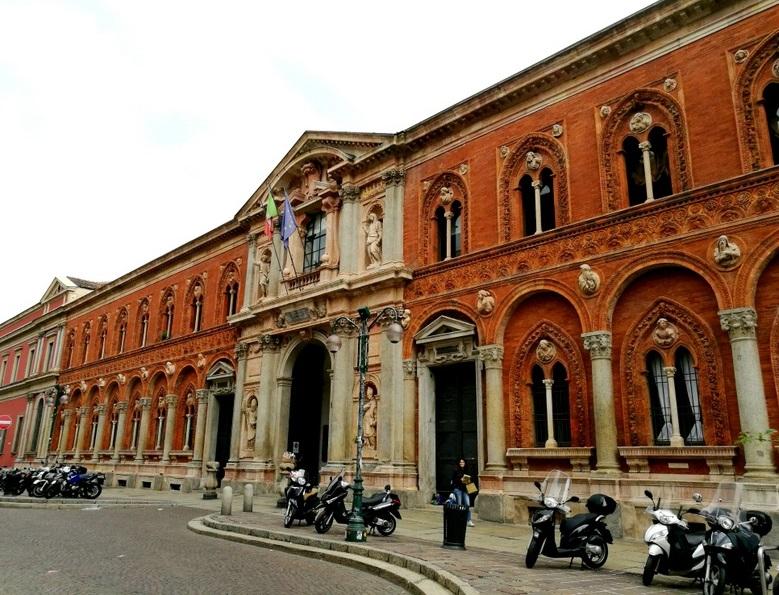 L'Ospedale Maggiore era nell'edificio che oggi ospita l'Università Statale