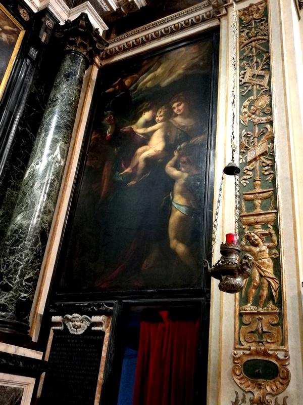Procaccini tra gli artisti della Chiesa di Sant'Antonio Abate