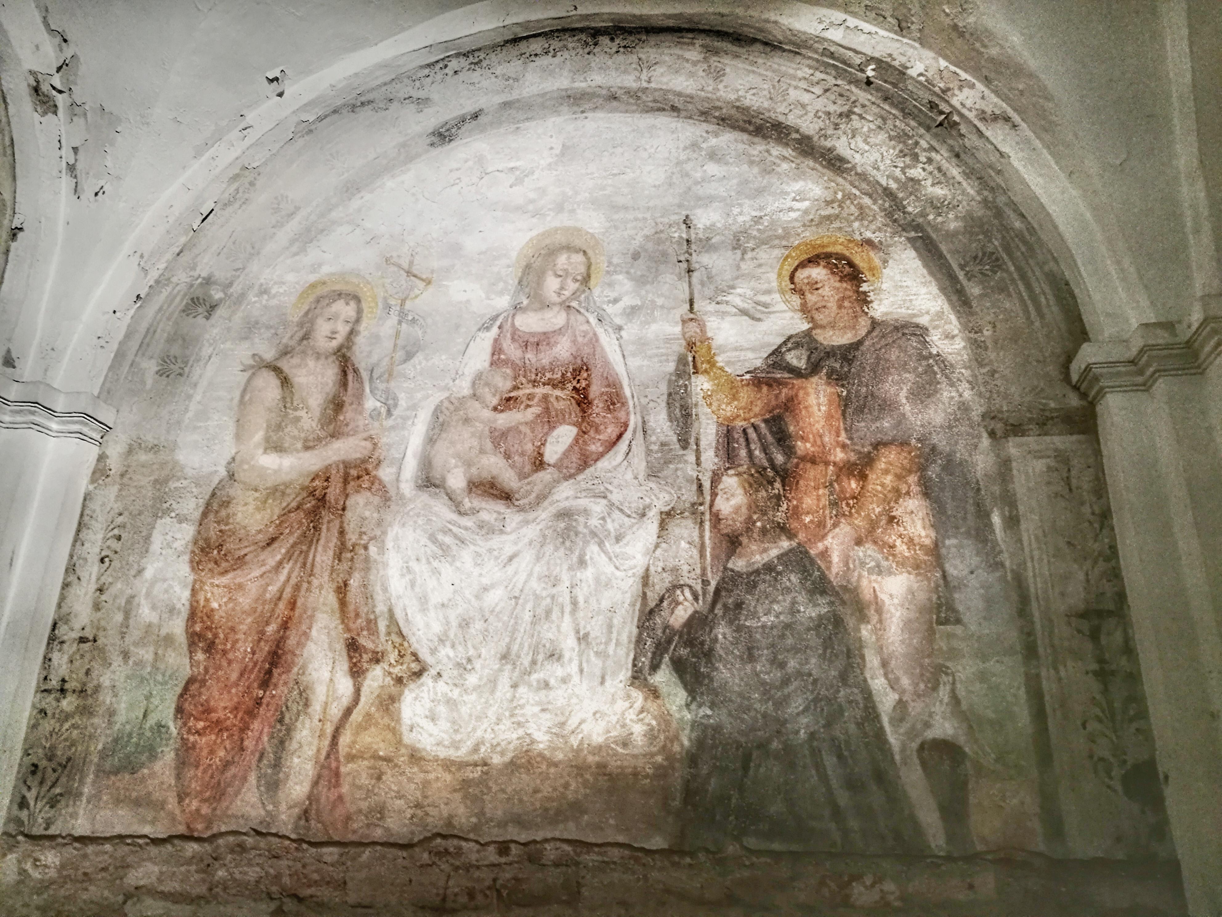 Milano sotterranea cripta San Sepolcro