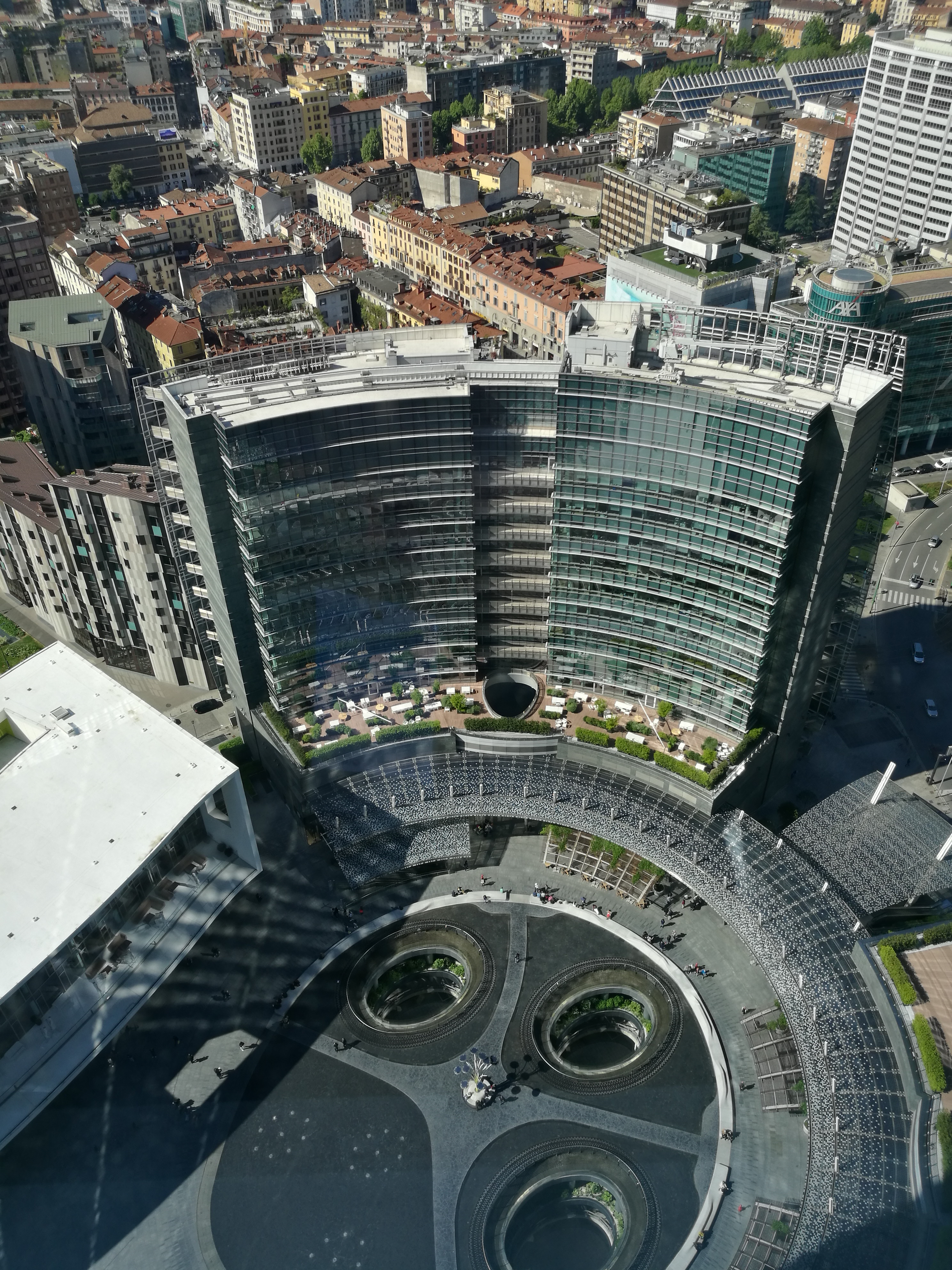 Visuale dalla Unicredit Tower