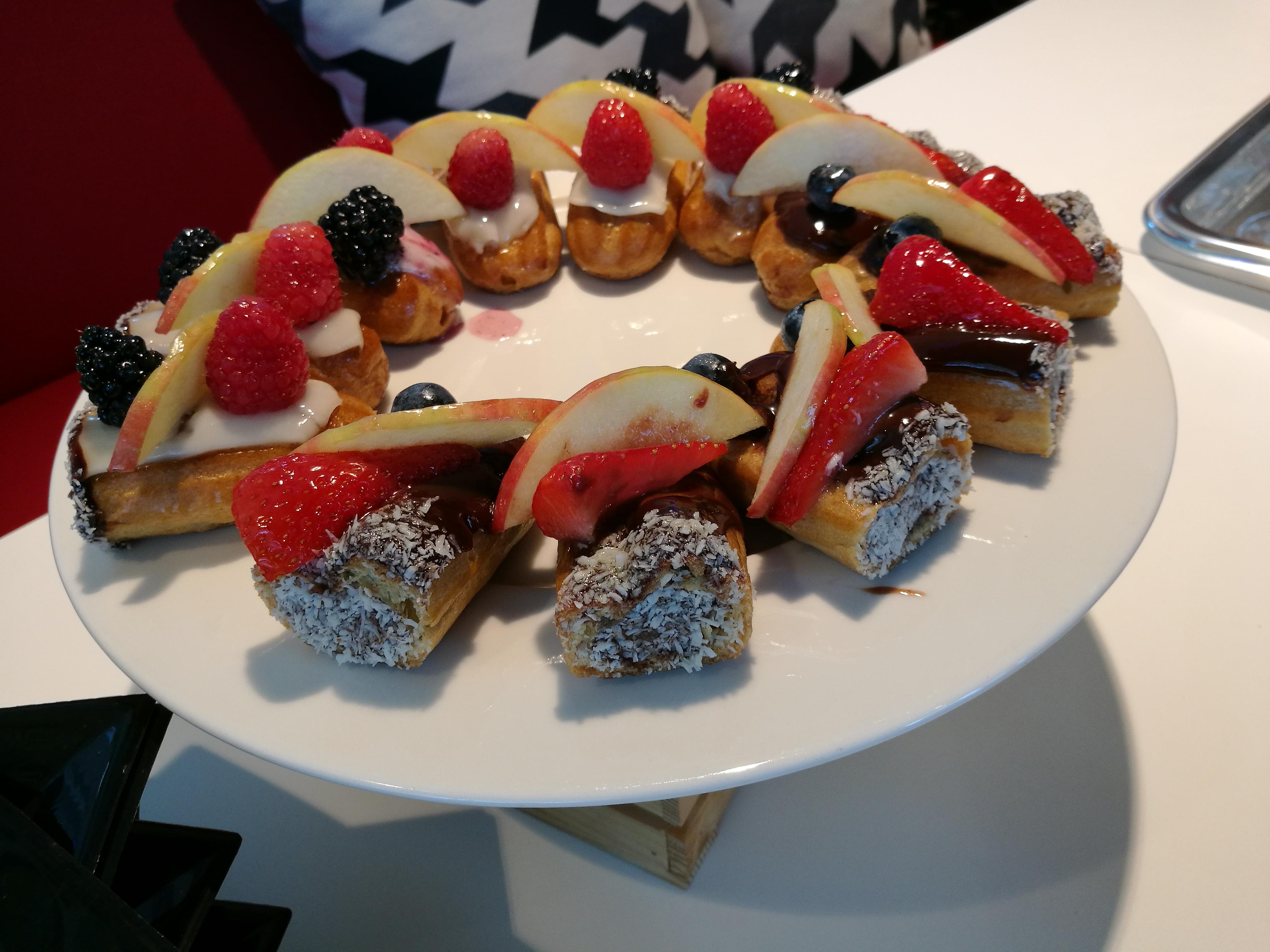 Milanoinverticale pranzo da Delifrance