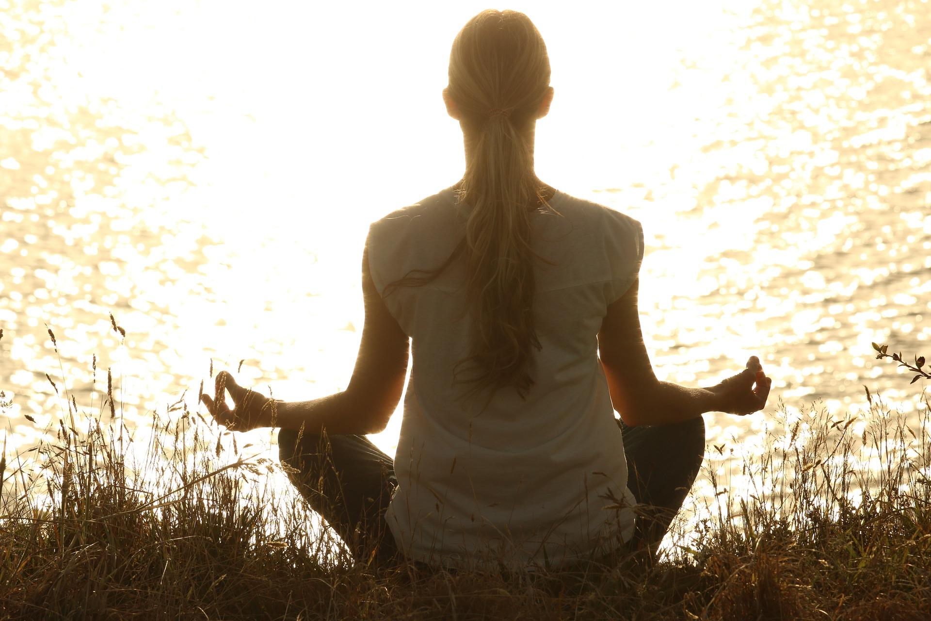 Meditare all'aperto