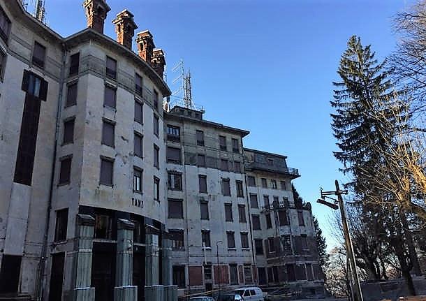 Hotel abbandonato Varese