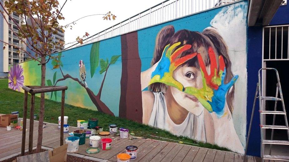 Street Art Ascanio Quartiere Adriano