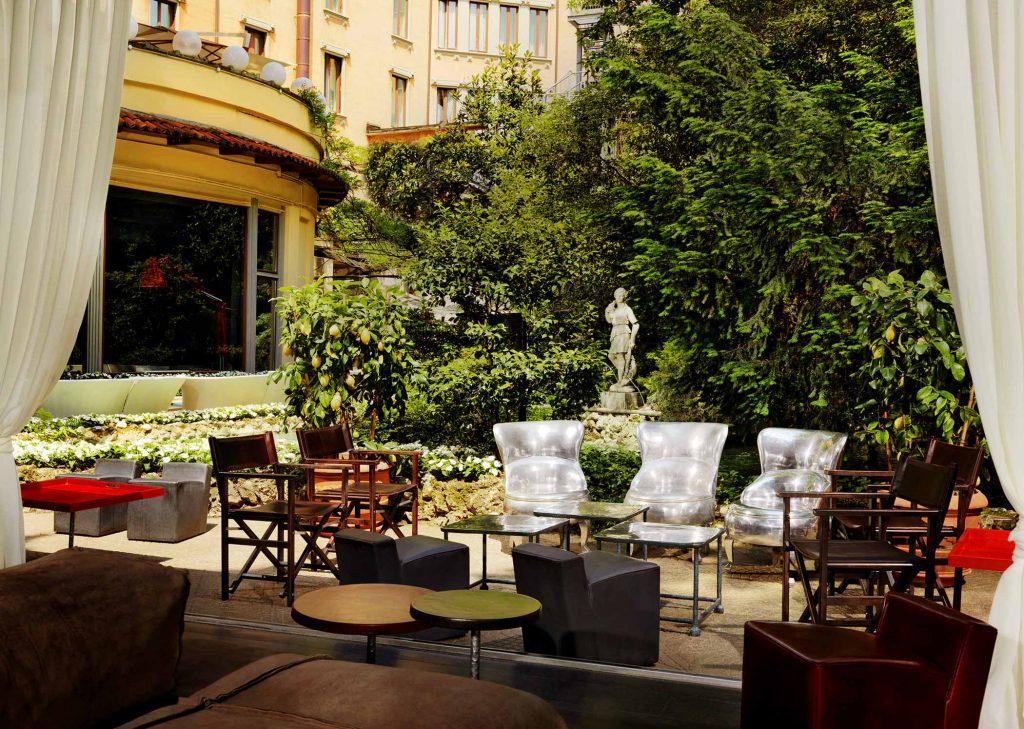 aperitivo in giardino milano