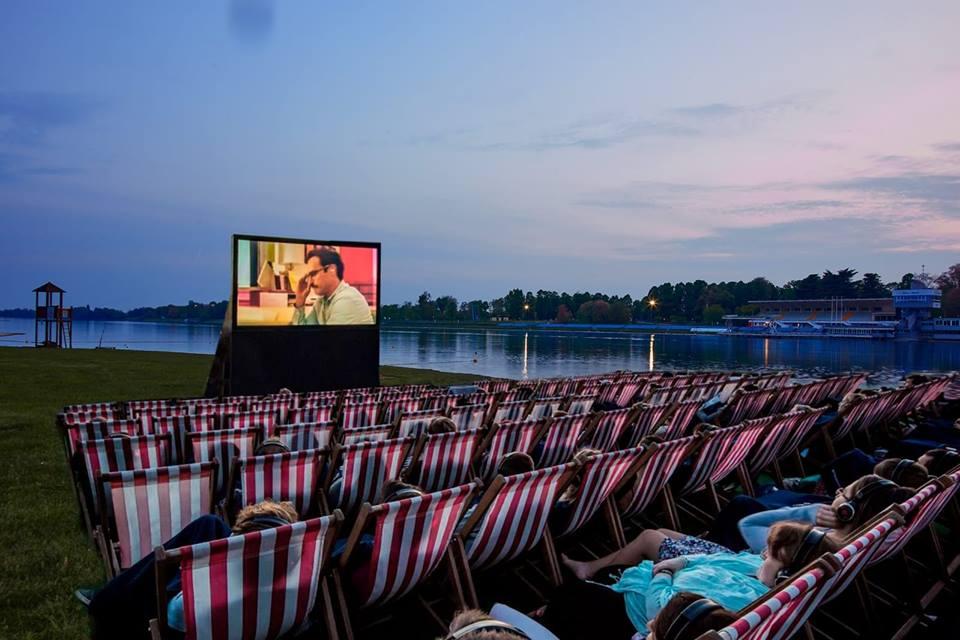 Cinema Bianchini in spiaggia