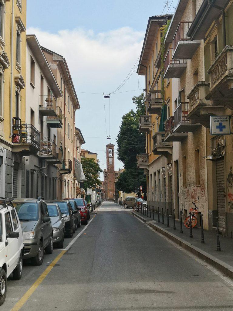 Via Conte Rosso Lambrate
