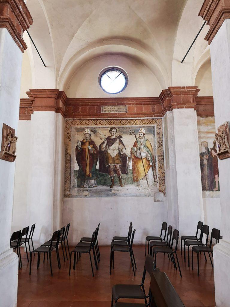 Affreschi nella Chiesa di San Giacomo
