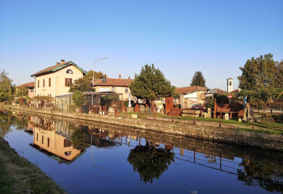 Zibido san Giacomo: pedalando tra cascine e risaie lungo il Naviglio Pavese