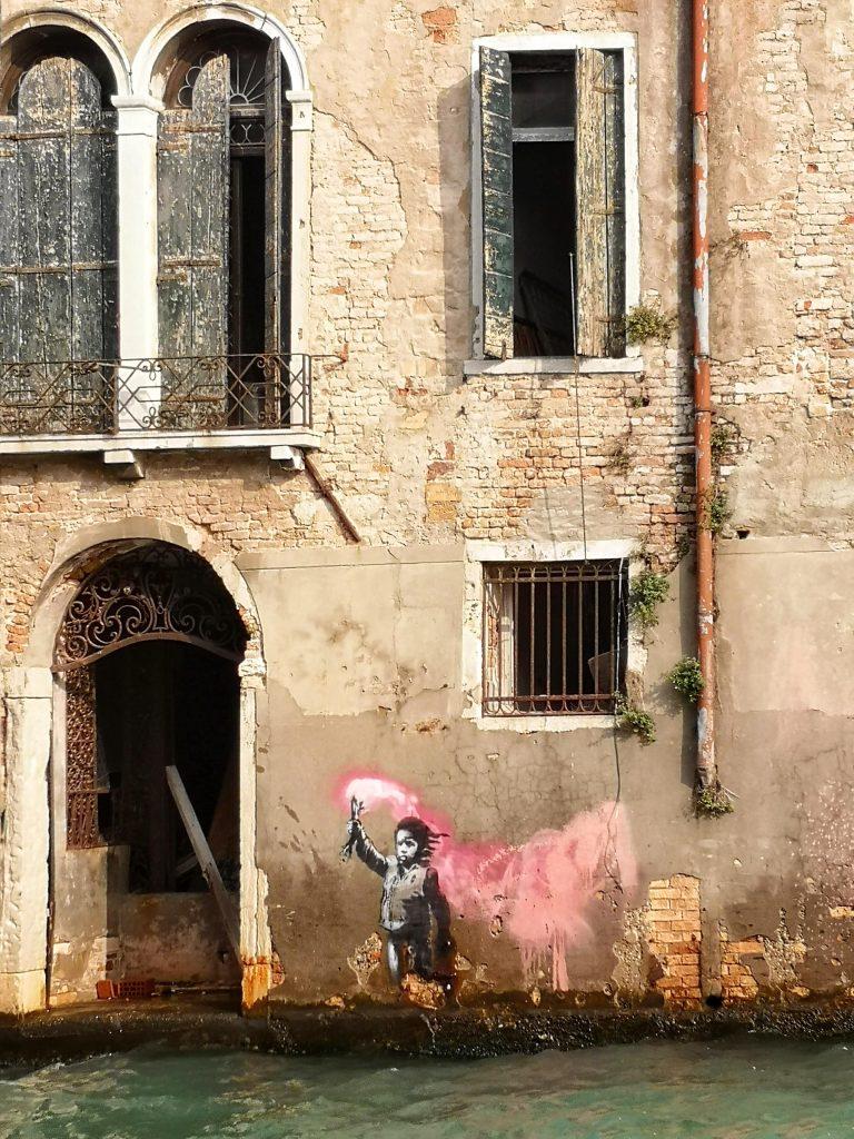 Murales Banksy Venezia