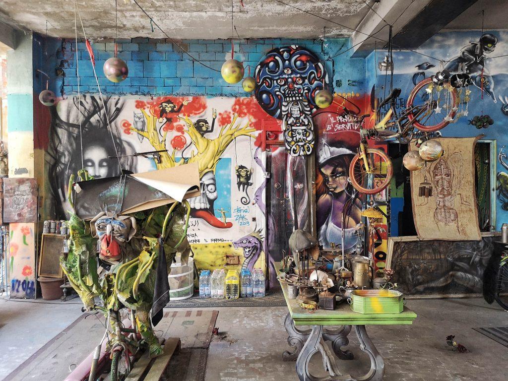 castello di zak museo di street art