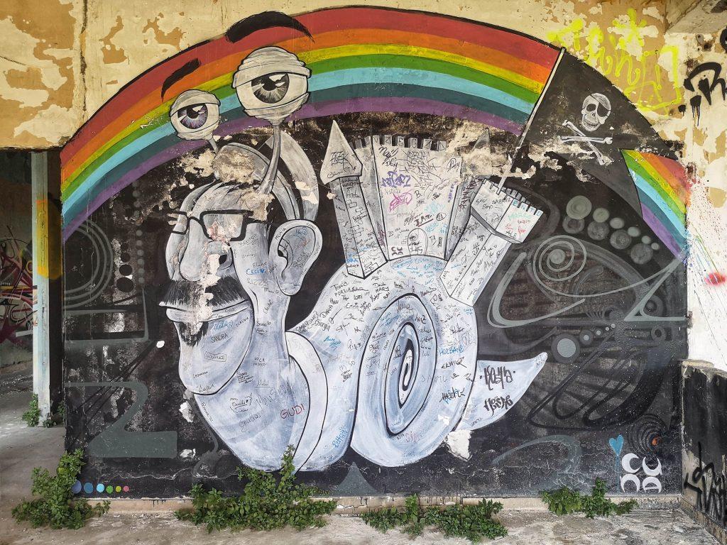 Il Castello di Zak street art