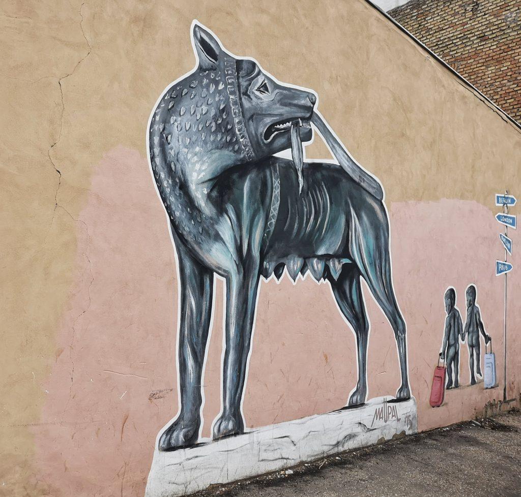 street art roma quadraro maupal