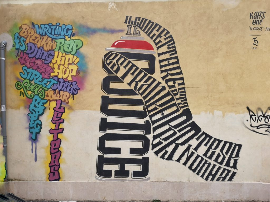 street art roma quadraro Pepsy