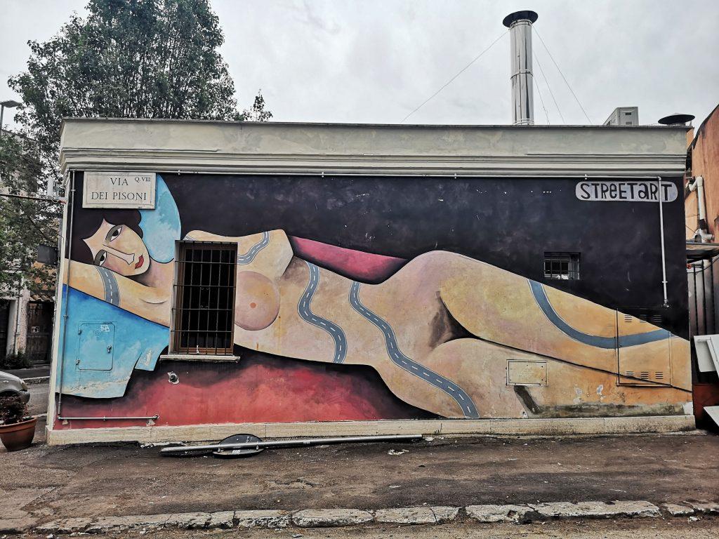 street art roma quadraro Jim Avignon