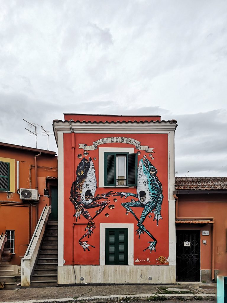 street art roma quadraro Veks-Van-Hillik