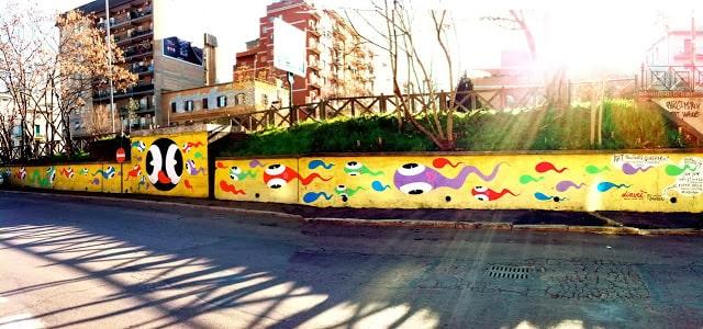 street art roma quadraro David Diavù Vecchiato