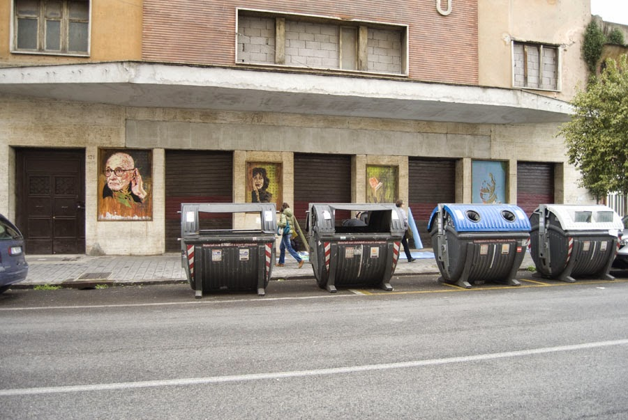 street art roma tor pignattara ex cinema impero