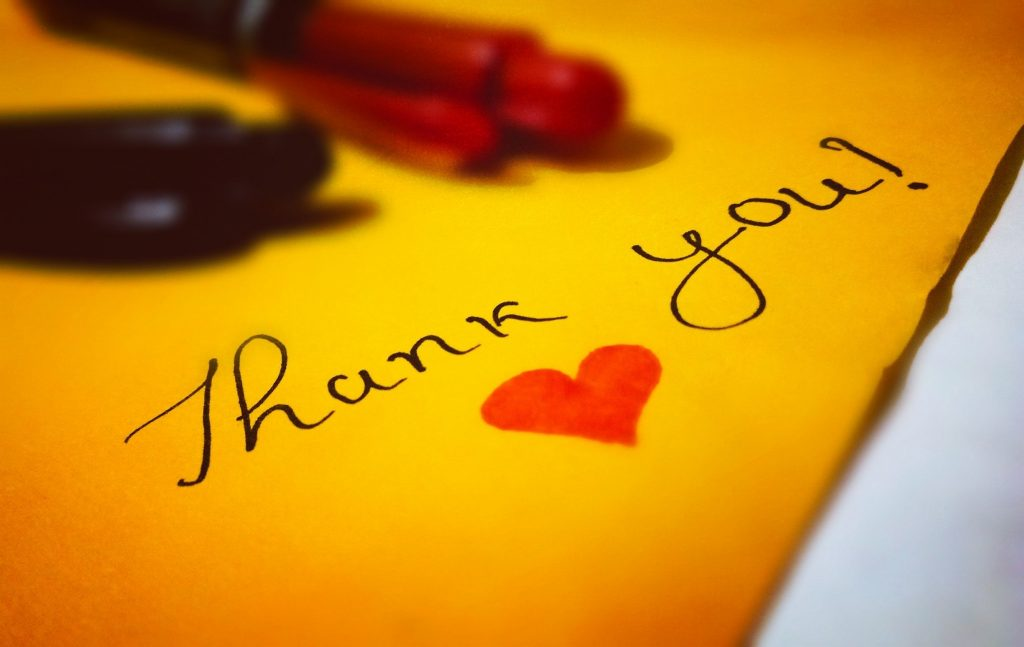 impariamo la gratitudine