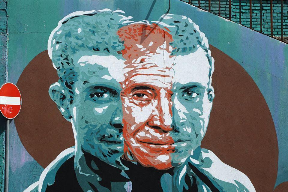 Diavù M.U.Ro street art roma