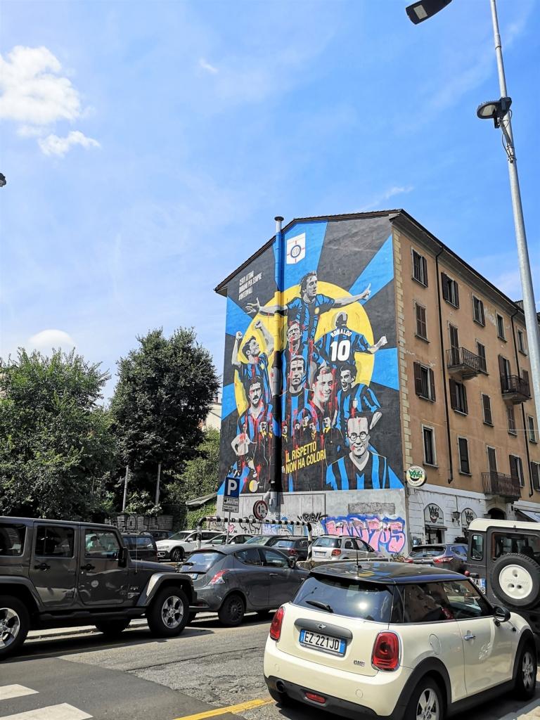Murale dell'Inter