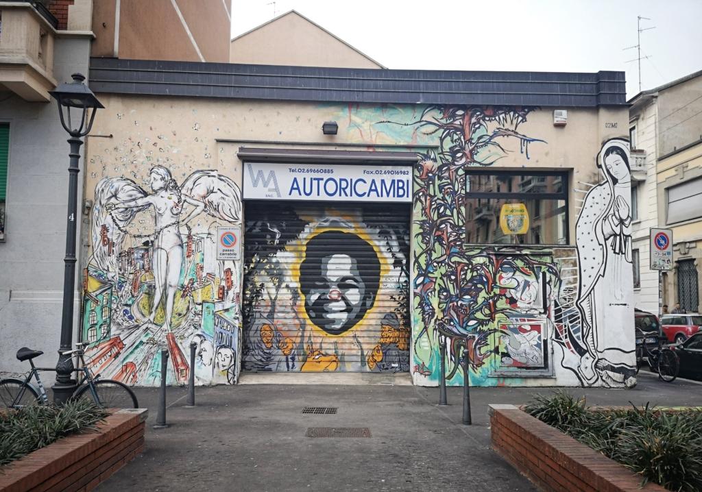 STREET ART ISOLA PIAZZA TITO MINNITI