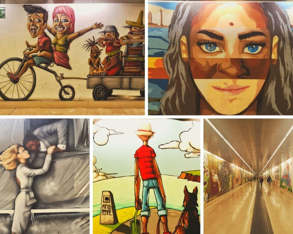 sottopasso garibaldi streetart